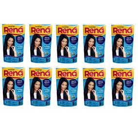 Kit Com 14 Hene Gel Rena Preto Azulado 180g