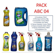 Pack Limpieza Lavalozas Liquido Abc+ Recarga+ Límpiapisos+
