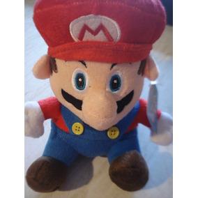 Peluche De Mario Bros Para Niños Y Adultos Mide 20 Cm