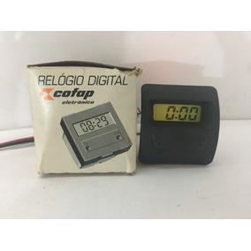 S10 Blazer Relogio Hora Digital Painel Curvo Caixa Rarissimo