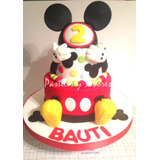 Tortas Artesanales - Mickey Mouse En Dos Pisos