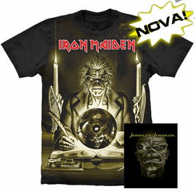 Camiseta Premium Iron Maiden Seventh Son Of A Seventh Son.