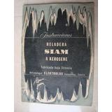 Manual Original De Heladera Siam A Kerosene