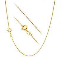 Colar Corrente Veneziana Ouro 18k/0750 40cm - 1048b