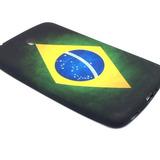 Capa Emborrachada Brasil Para Samsung Galaxy Tab.3 - 7.0