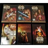 Star Wars Combo Episodios 1 2 Y 3 (6 Dvds Originales)