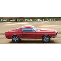 Mustang Shelby Gt500 (1968) (modelo Para Armar En Papel)