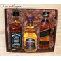 Jack Daniels + Black Label + Chivas Regal (50ml) Mini Whisky