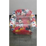Sillon Infantil Minie Mickey Reforzado Varios Diseños Envio
