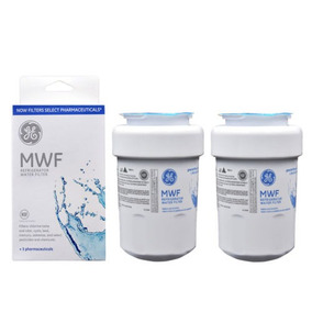 2 Pack Ge Mwf Mwfp 46-9991 Nevera Agua Filtro Smartwater Gwf
