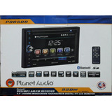 Autoestereo Planet Audio P9650b Usb Aux Bt Sd Card Doble Din