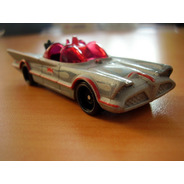Batmobile Hotwheels 1966 Batimovil Gris Blister
