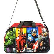 Bolsa Infantil Sacola Viagem Criança Vingadores Avengers Herois Grande F5