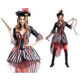 Fantasia Feminina Pirata - Chapeu Incluso