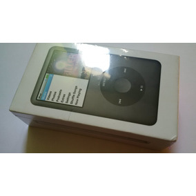 Ipod Classic 160gb Black Apple Mc297zy/a (novo E Lacrado!)