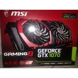 Gtx 1070 8gb Msi Gaming X
