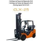 Catalogo Eletrônico Empilhadeira Still Clx25