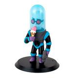 Boneco De Estante Mr Freeze Pvc Inimigo Do Batman 15 Cm