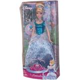 Muñeca Princesa Cenicienta Real Mattel - Jugueteria Aplausos