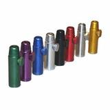 Kit Snuff Dosador Bullet De Alumínio Para Rape Kit 4 Pç