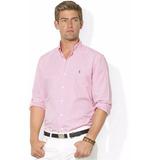 Camisa Polo Ralph Lauren Hombre A Cuadros Rayas De Colores