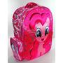 Mochila Espalda My Little Pony 16 Colegi 3d Relieve Original