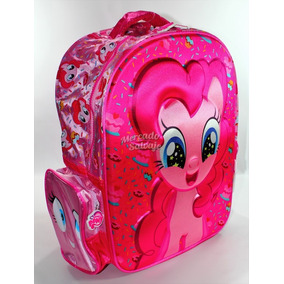 Mochila Espalda My Little Pony 16 Colegi 3d Relieve Original