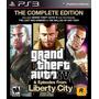 Gta Iv Complete Edition + Liberty City Episodios Ps3 Cod Psn