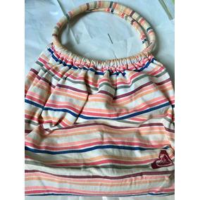 Cartera/ Bolso Playero/ Shopping Bag Roxy Canvas