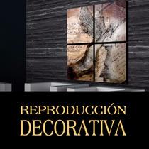 Cuadro Decorativo Mural Ángel Rustico Ideal Living 1.2x1m