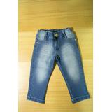 Calça Jeans Bebê Menina - 2 E 3 Anos