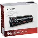 Auto Estéreo Sony Cdx-g1200u Cd Mp3 Usb Aux Android Iphone