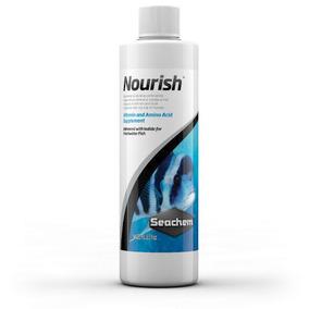 Seachem Nourish 250ml Suplemento Aquários Água Doce