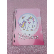 Cuadernos Personalizados Unicornios, Pony Y Personajes A4
