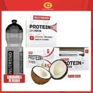 Barra Proteica  Nutrend Coco (24 Unidades) + Regalo