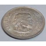 10 Pesos 1961 - El Gaucho Heroe Nacional - Moneda De Plata