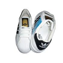 Tenis Adidas Superstar 100% Piel Vacuno Excelente Calidad