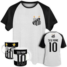 Santos Time Tamanho G5 - Camisetas e Blusas no Mercado Livre Brasil 69b840f40bf7c