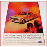 Dante42 Publicidad Antigua Retro Auto Ford Falcon 1962