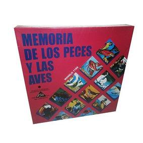 Juego Memoria De Aves Y Peces