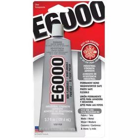 Pegamento E6000 Pega Claro No Se Quita Con El Agua