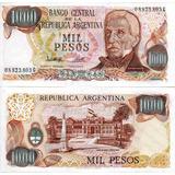 1.000 Pesos Ley 18.188 Unc - Bot 2453 - Año 1981