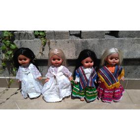 Antiguas Muñecas Dec. 70 Sin Jugar.ropa Original