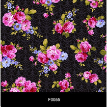 Papel De Parede Floral 3d Lavável Autocolante Adesivo