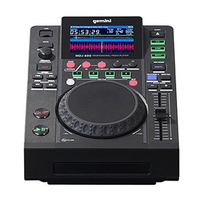 Gemini Mdj-600 | Professional Usb And Cd Media Player