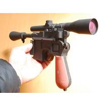 Han Solo Pistola Blaster Laser Dl-44 Icónica Modelismo Papel