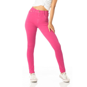 Calça Feminina Skinny Hot Pants Colorida Denim Zero - Dz2373