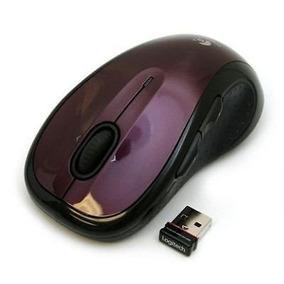Mouse Logitech M510 Rojo Ergonomico Laser Inalambrcio Usb Un