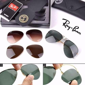 Ray Ban Aviador Tech Flip Out Rb3460 Troca Lentes Original