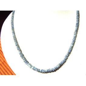 Collar De Zafiro 43 Cm